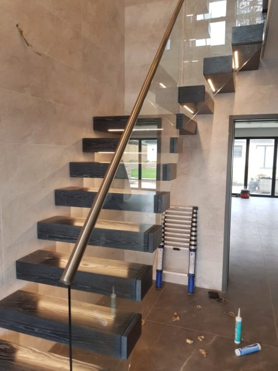 Glass Staircase Works